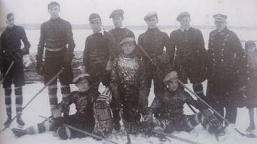 Hokeiści Unii Sosnowiec. Rok 1935