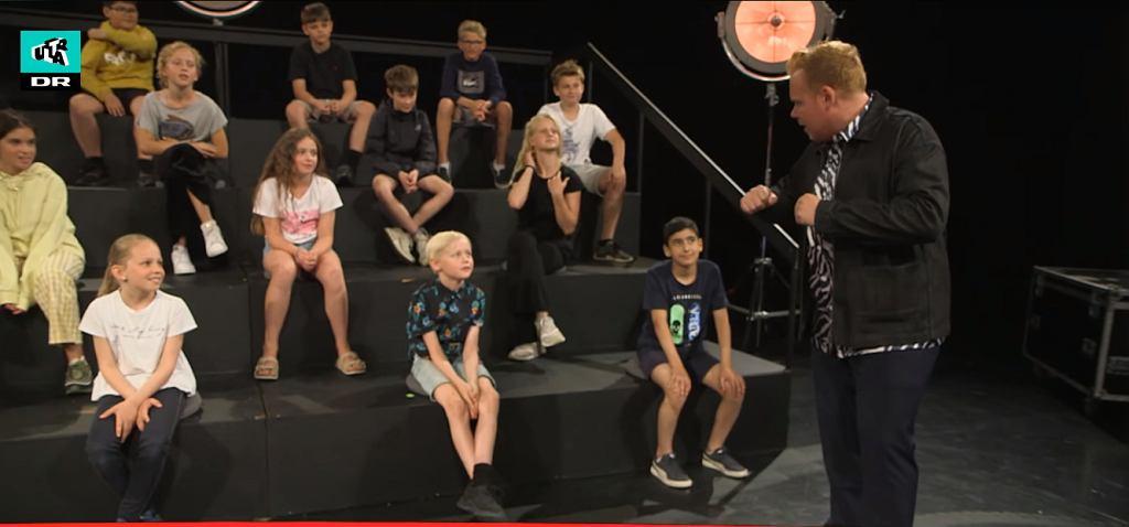 Nadzy ludzie wystąpili przed dziećmi w duńskiej telewizji