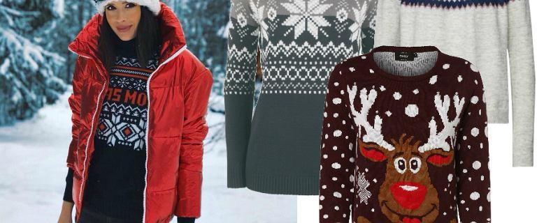 Swetry świąteczne. Wolisz te w skandynawskie wzory czy w bałwanki i Mikołaja? W grudniu to must have!