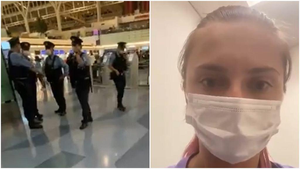 Cimanouska zatrzymana na lotnisku