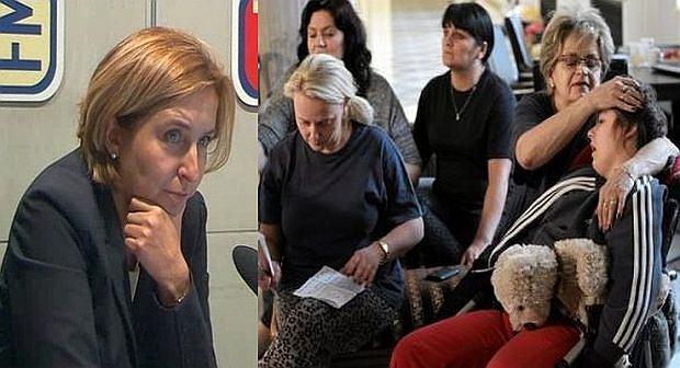 Dominika Wielowieyska: Państwo musi zrobić wszystko, żeby te pieniadze świadczneia dla dzieci najbardziej niepełnosprawnych były podniesione