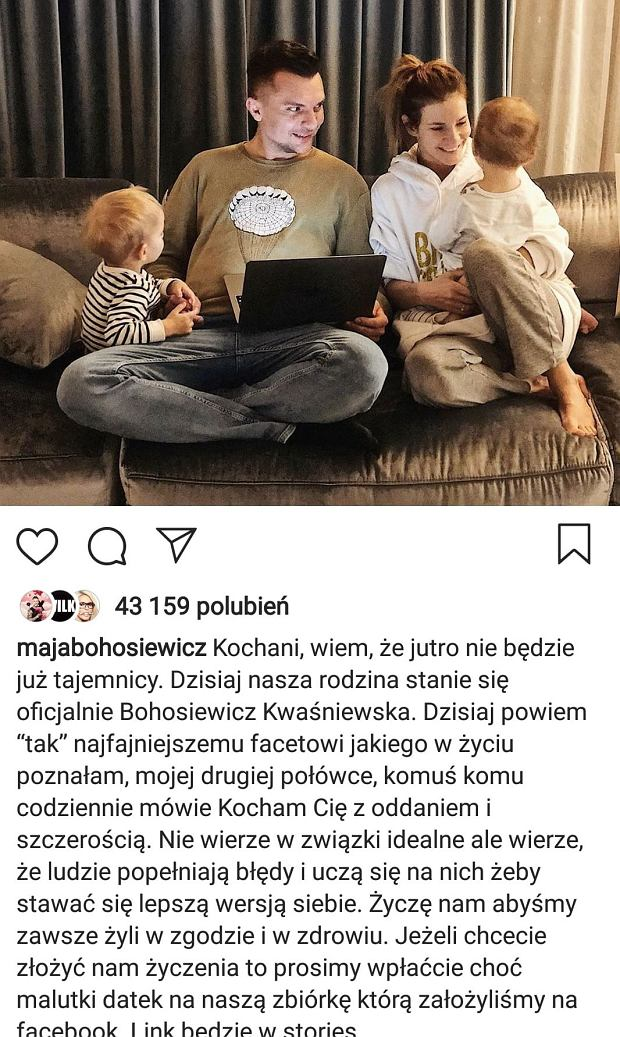Wpis Mai Bohosiewicz