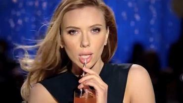 Scarlett Johansson w reklamie Soda Stream