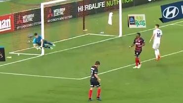 Dziwne zachowanie Filipa Kurto w meczu ligi australijskiej