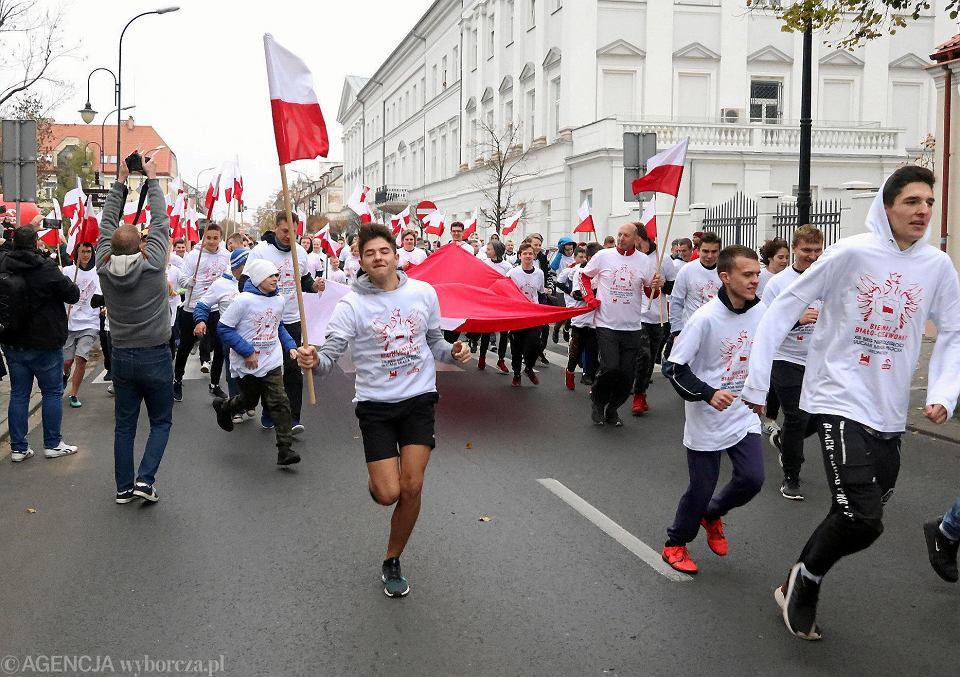 Narodowe Święto Niepodległości 2019. 13. Bieg Niepodległości w Płocku