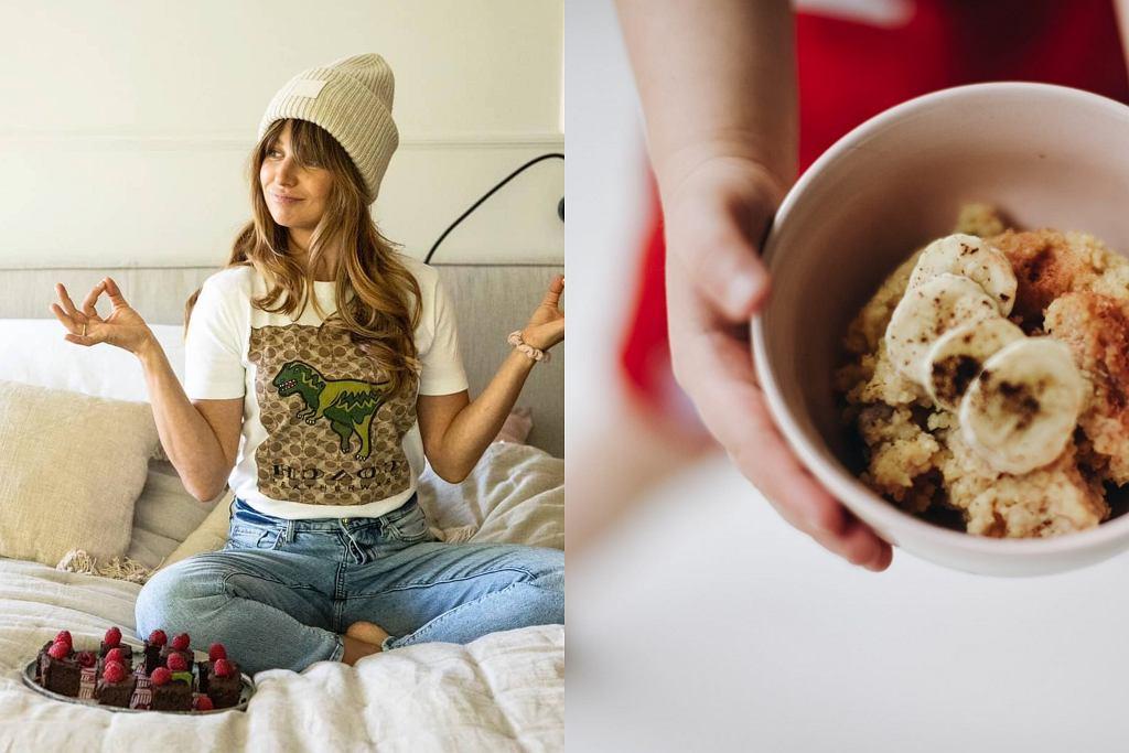Anna Lewandowska - przepis na słodkie śniadanie