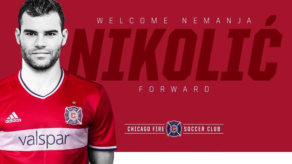 Nemanja Nikolic w Chicago Fire