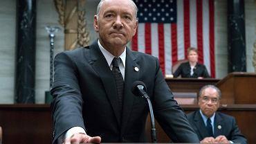 Kevin Spacey w 'House of Cards'