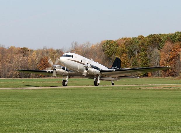 Zdjęcie rozbitego samolotu wykonane w 2018 roku