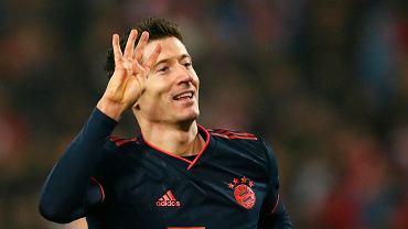 Robert Lewanowski w meczu Bayernu Monachium z Crveną Zvezdą Belgrad strzelił cztery bramki