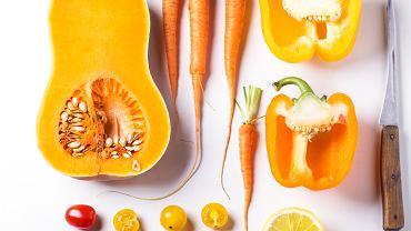 Karotenoidy to grupa barwników występująca powszechnie w produktach roślinnych, zwłaszcza takich, które mają żółty, pomarańczowy lub czerwony kolor