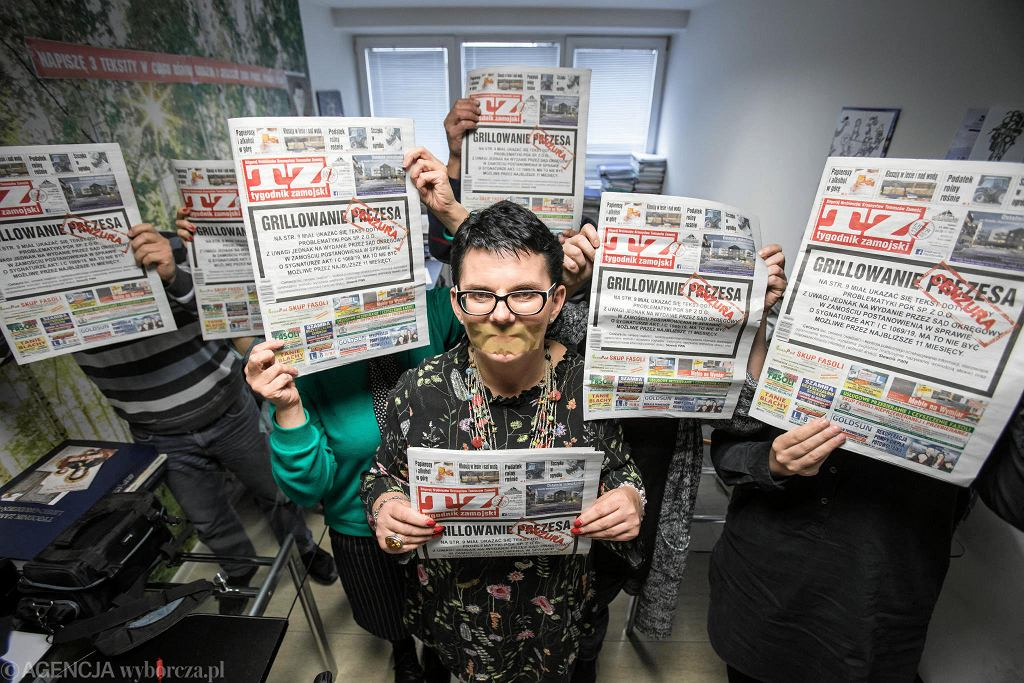 Dziennikarska 'TZ' Jadwiga Hereta