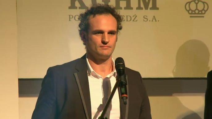 Paweł Wilkowicz na gali Grand Press 2014