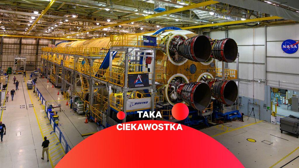 Główna część rakiety SLS gotowa do testów