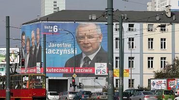 Teren należący do spółki Srebrna, na którym Jarosław Kaczyński chciał wybudować 'dwie wieże'. Warszawa, 11 października 2007