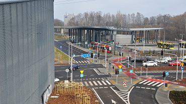 Centrum przesiadkowe w Katowicach-Brynowie