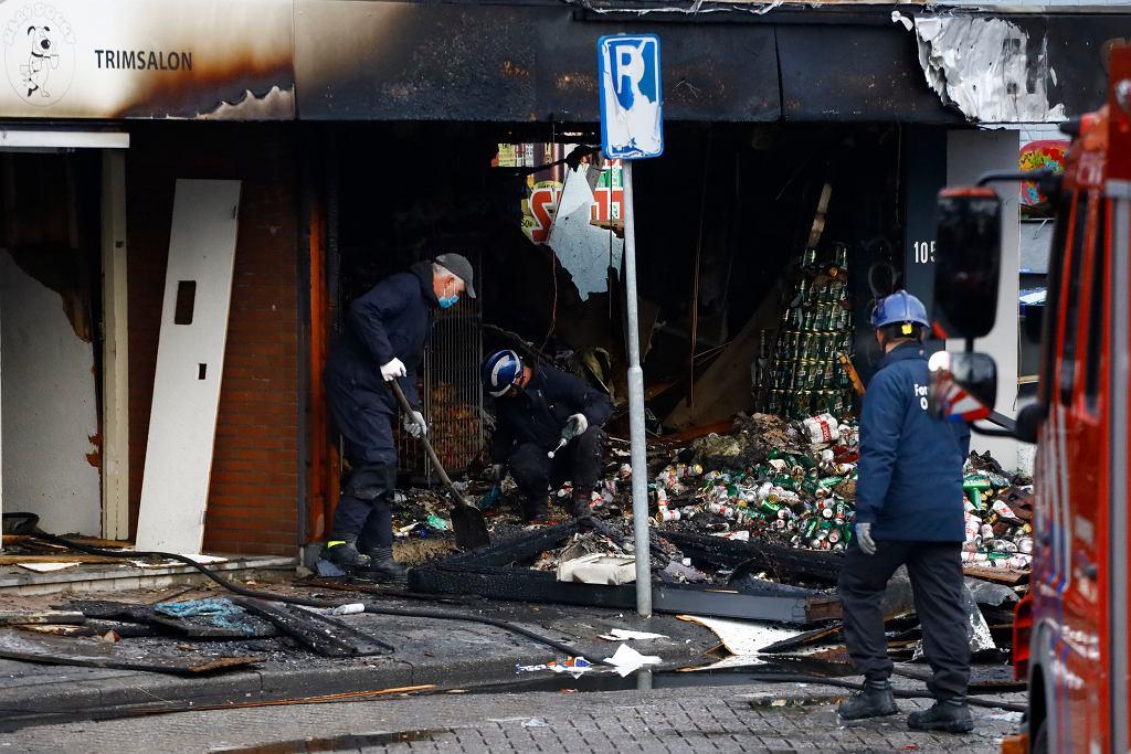 Wybuch w polskim sklepie w Holandii, 8 grudnia.