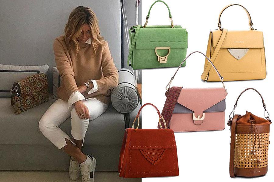 Kolaż, torebki Coccinelle/Materiały partnera