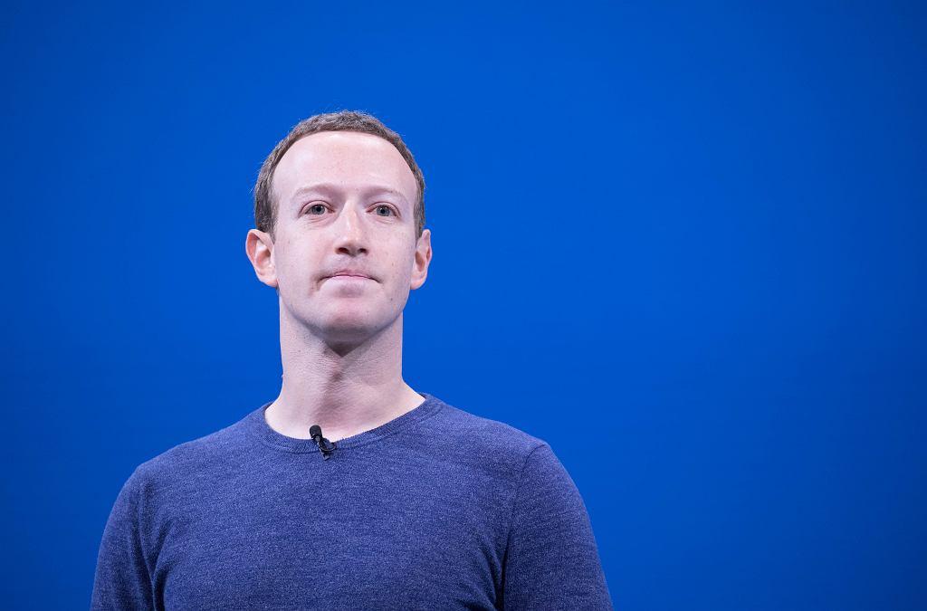 Mark Zuckerberg, zdjęcie ilustracyjne
