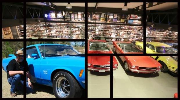 Kolekcja 5500 modeli Forda Mustanga