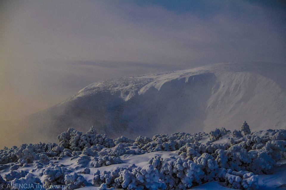 Nocne wejście na Śnieżkę. Czeska strona Karkonoszy