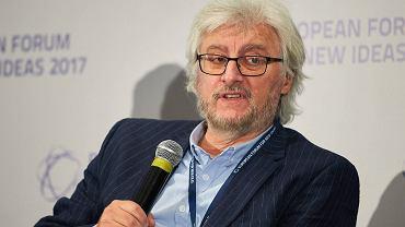 Europejskie Forum Nowych Idei 2017. Debata o kryzysie demokracji. Na zdjęciu Radosław Markowski