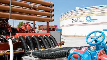 Adamowo, instalacja rurociągu naftowego 'Przyjaźń' przedsiębiorstwa Pern.