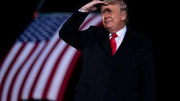 Prezydent USA Donald Trump.