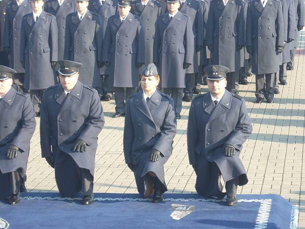 Promocja oficerska Katarzyny Tomiak-Siemieniewicz (Fot. archwium prywatne)