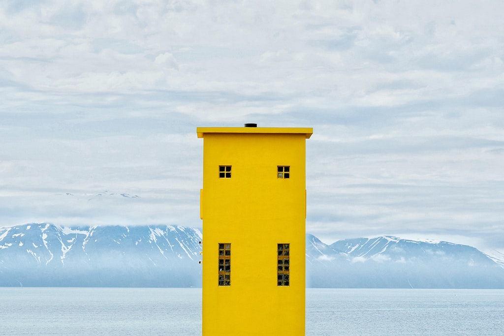 Latarnia morska w Husavik na Islandii / Reddit/Milonade