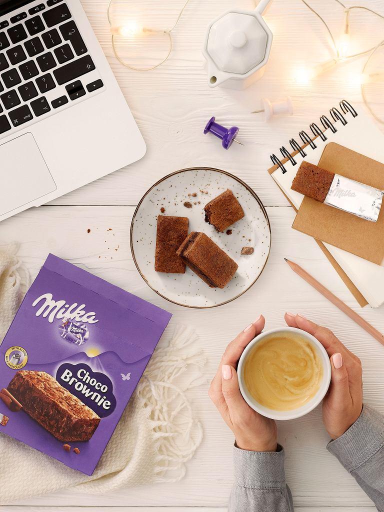 Czekoladowe brownie od Milka