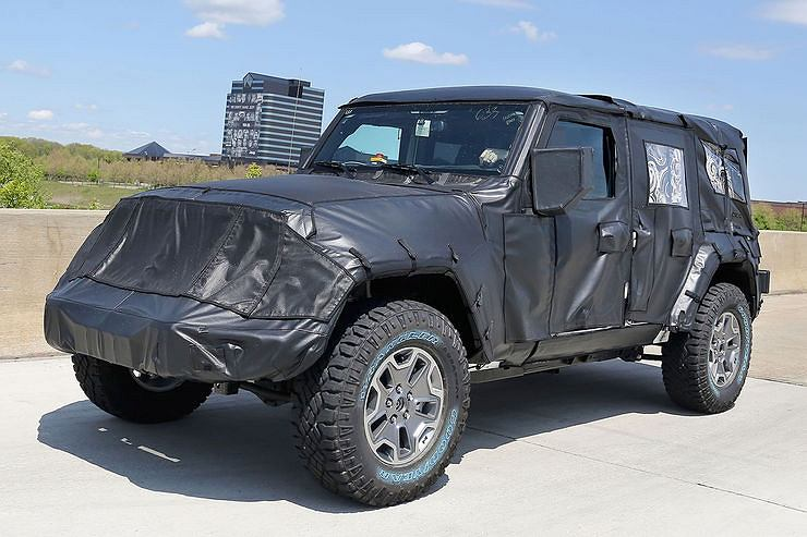 Prototyp Jeep Wrangler