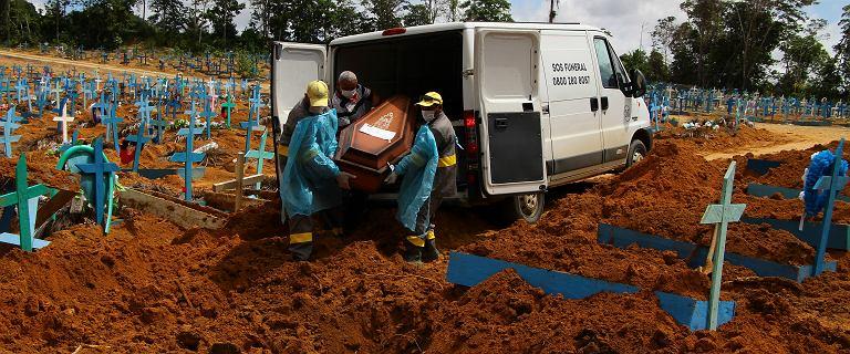 Nowa odmiana koronawirusa w Brazylii. Portugalia z paraliżem szpitali