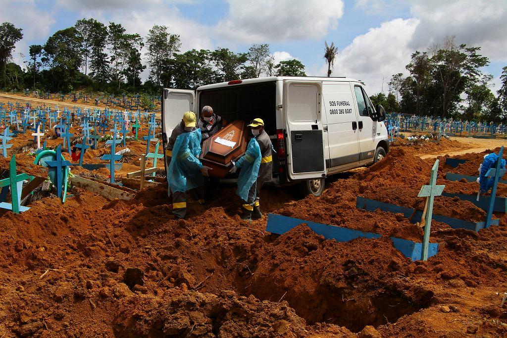 Kryzysowa sytuacja w brazylijskim Manaus