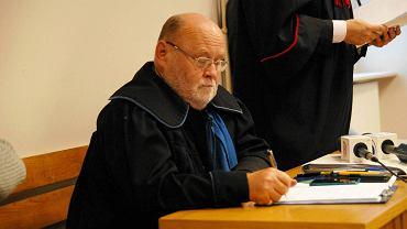 Sąd w Zielonej Górze. Proces w sprawie śmierci kibica Falubazu. Oskarżyciel Kazimierz Pańtak