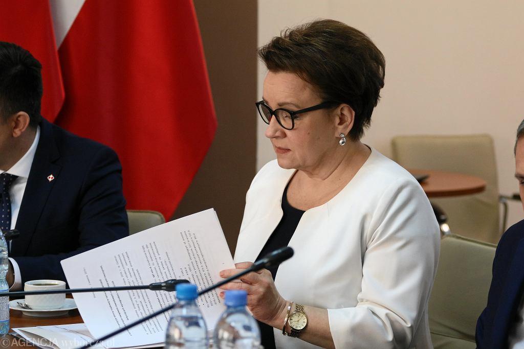 Po Złoży Wniosek O Odwołanie Anny Zalewskiej Za