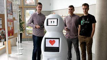 Bobot - robot skonstruowany przez studentów Politechniki Białostockiej