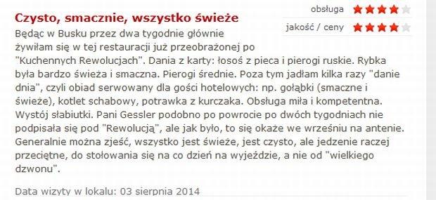 Komentarz z Gastronauci.pl