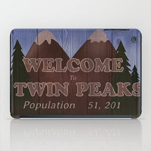 "iPad case ""Twin Peaks"""