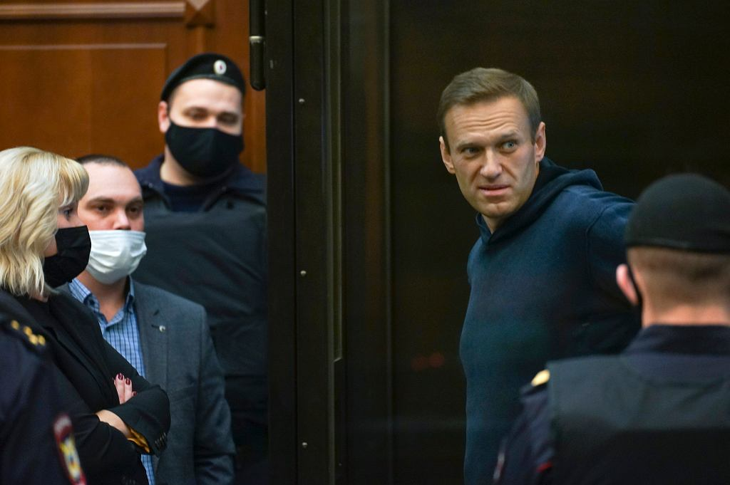 Aleksiej Nawalny został skazany na więzienie w kolonii karnej