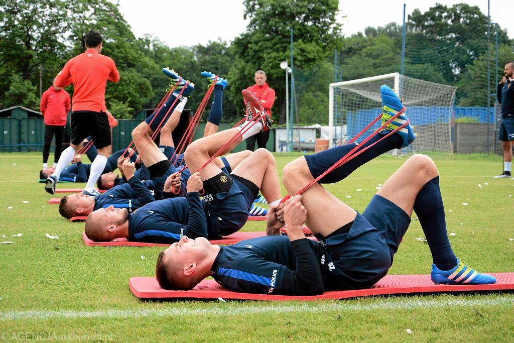 Pogoń Szczecin przygotowuje się do meczu ze Śląskiem Wrocław