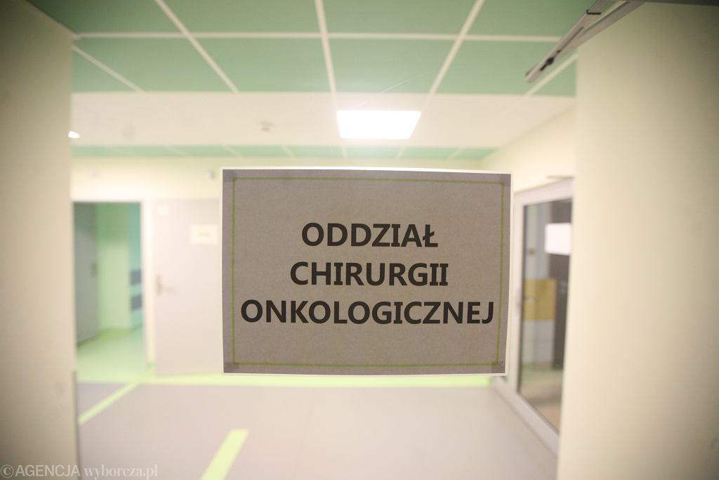 Oddział onkologiczny (zdjęcie ilustracyjne)