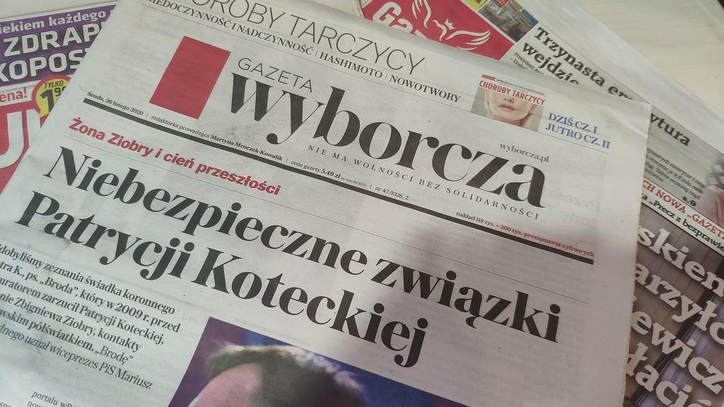 Sprawę opisała 'Gazeta Wyborcza'
