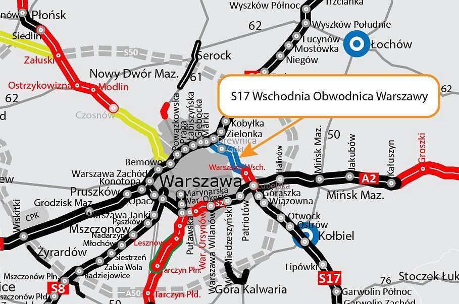S17 - Wschodnia Obwodnica Warszawy