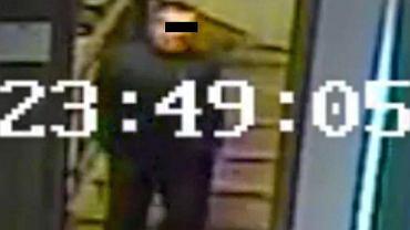 Ten mężczyzna podejrzewany jest o kradzież prezentów dla młodej pary, fot. Komenda Powiatowa Policji w Pruszczu Gdańskim