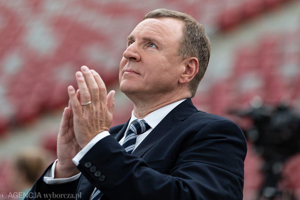 Prezes TVPiS Jacek Kurski