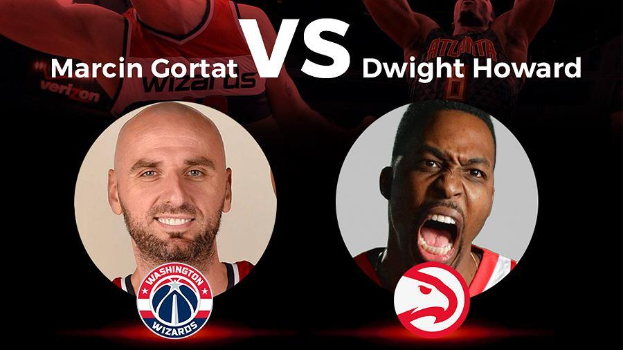 Marcin Gortat kontra Dwight Howard