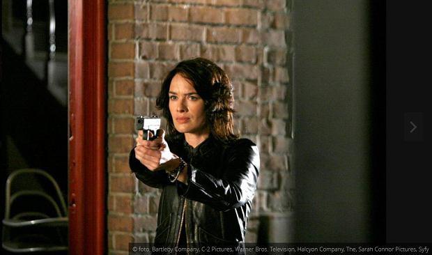 Lena Headey jako Sarah Connor