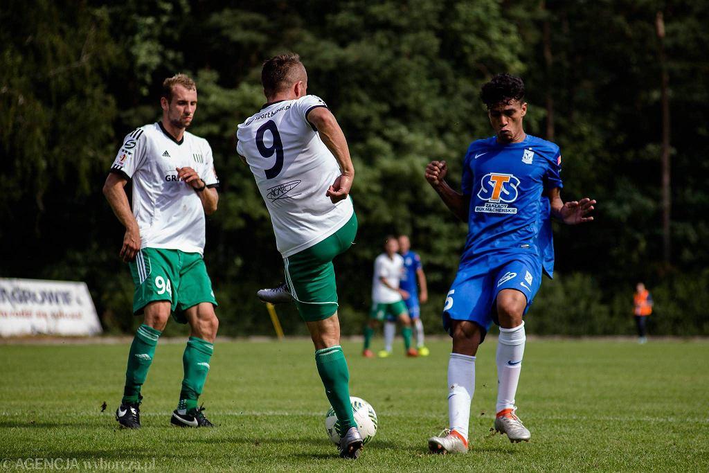 Lech Poznań - Olimpia Grudziądz 2:1. Victor Gutierrez