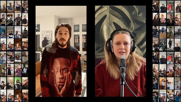 Miuosh, Smolik, Nosowska i muzycy NOSPR zagrali z własnych domów